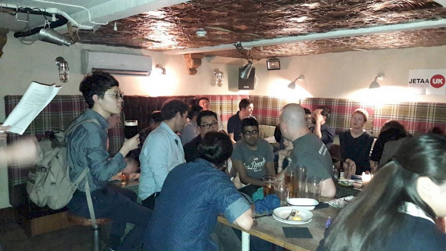 JETAA London Charity quiz raises £100 for Second Harvest Japan