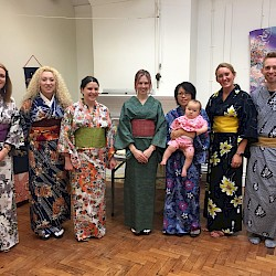 JETAA North West Kimono Afternoon Tea in Chester